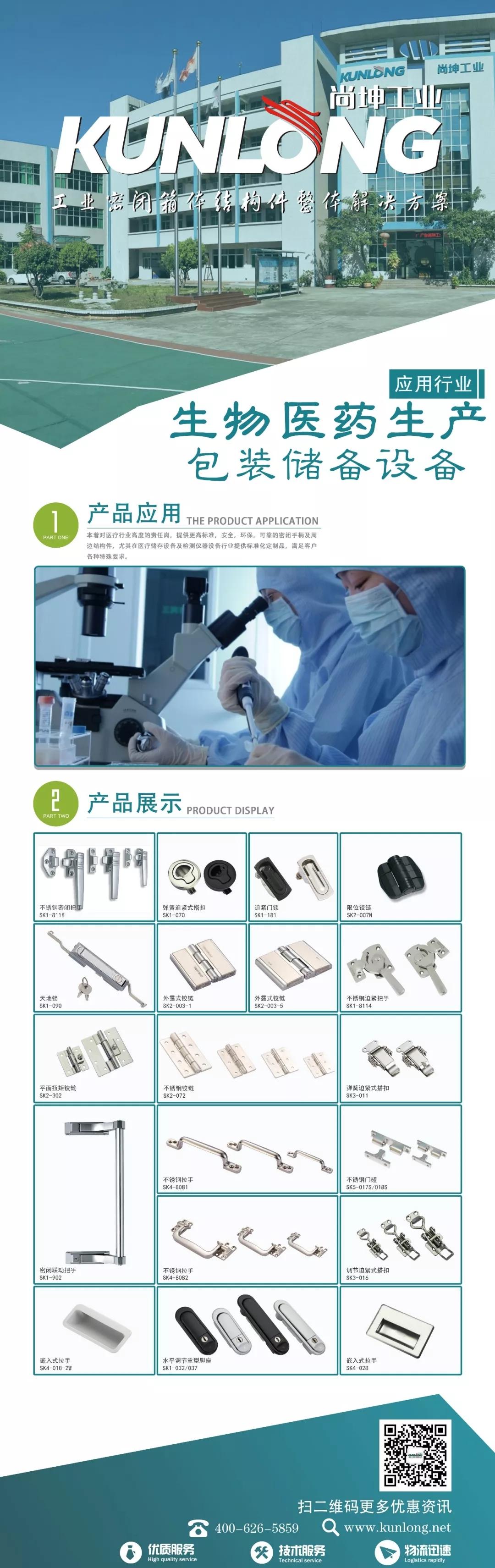 尚坤工业 生物医疗生产包装储备设备行业图